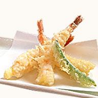 一品料理 天ぷらの盛り合わせ