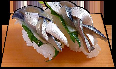 にぎり寿司 こはだ